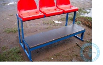 Трибуна (скамейка) трехместная